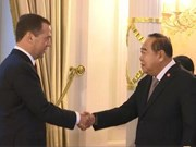 Thai deputy PM attends informal defense ministers meeting in Moscow