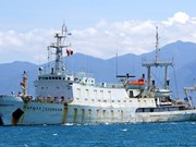 Russia's hydrographic vessel docks at Cam Ranh port