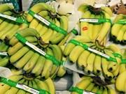 Vietnamese bananas on Japan's supermarket shelves