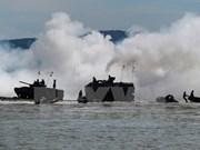 ADMM-Plus military drill undergoing in Brunei