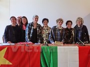 Vietnam, Italy honour women's roles in war, peace