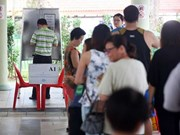 Singapore's ruling party PAP wins by-election