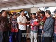 26 arrested Vietnamese fishermen return home