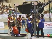 National Robocon final gets underway in Ninh Binh