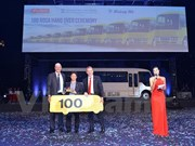 Mercedes-Benz's ROSA buses well received in Vietnam
