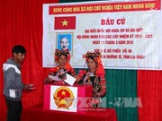 Early elections held in border communes in Lai Chau