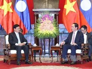 President receives visiting Lao Prime Minister