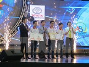 Lac Hong University named winner of Robocon Vietnam 2016