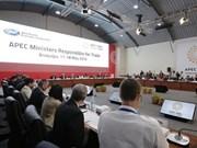 APEC trade ministers meet in Peru