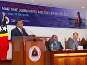 Dili conference spotlights maritime boundaries and sea law
