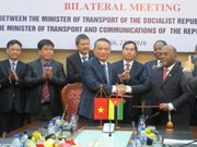 Vietnam, Mozambique intensify transport cooperation