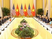 Vietnamese, US leaders discuss ways to boost bilateral ties