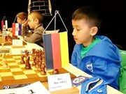 Anh wins U10 chess event in Germany championship