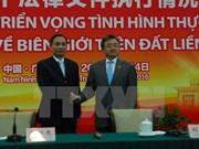 Legal documents enhance VN – China's border stability, development