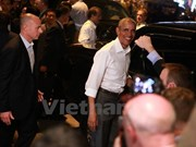Obama's visit to Hanoi continues to make foreign headlines