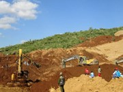 Myanmar landslide buries over 100 jade miners