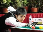 Nguyen bags bronze at World Cup 3-Cushion Carom Billiards