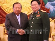Vietnam, Laos ministries commended on defence cooperation