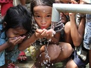 Cambodia ends water distribution to drought hit areas