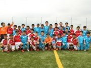 Toyota junior football camp launched