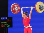 Weightlifter Huyen to compete at Olympics