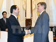 State leader bids farewell to Australian Ambassador