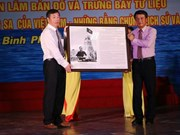 Exhibition on Hoang Sa, Truong Sa opened in Binh Phuoc