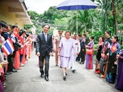 Thai princess visits Vietnamese Embassy in Bangkok