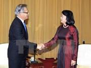 Vice President receives South Australia Governor, Premier