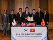 Vietnam, RoK boost cooperation in food processing