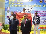 Vietnam triumph at SEA Karatedo competition