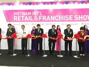 Three int'l trade shows kick off together in HCM City