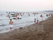 Sea water in Nghe An meets national standards