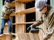 Wood product exports increase