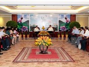 HCM City counts on diplomats to expand ties