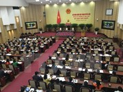 Hanoi: New People's Council opens first session, elects key positions