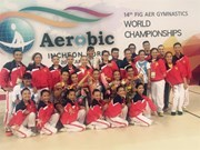 Vietnam wins four world Aerobic medals
