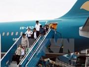Vietnam Airlines operates flights at new terminal in Myanmar