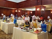 Korean cooking contest takes place in Hanoi