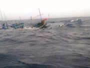 Trade union protests China sinking Vietnamese fishing boat