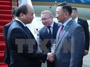 Prime Minister arrives in Ulan Bator, begins official visit