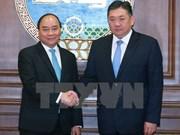 PM meets Mongolian parliament speaker