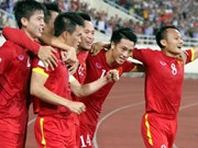 Vietnam's football team drops six places in world ranking