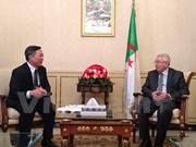 Algeria's senate speaker receives outgoing Vietnamese ambassador