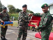Indonesia, Malaysia hold joint military drill