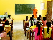 Kien Giang encourages Khmer teaching to ethnic children
