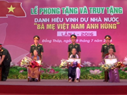 Dong Thap has 234 more heroic mothers