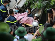 Last victim of building collapse in Hanoi found dead