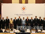 Fifth AEM-Russia Consultation takes place in Vientiane