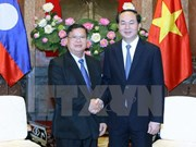 Vietnam gives top priority to relationship with Laos: President